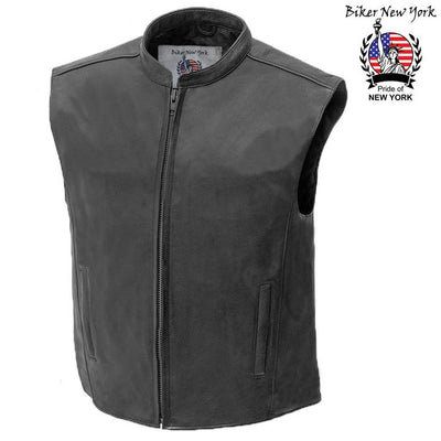 Highway - Men's Motorcycle Leather Vest