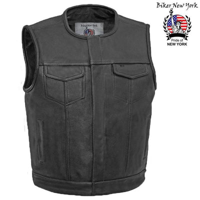 Rider - Men's Motorcycle Leather Vest