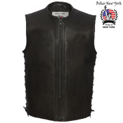 Salvatore - Men's Motorcycle Leather Vest