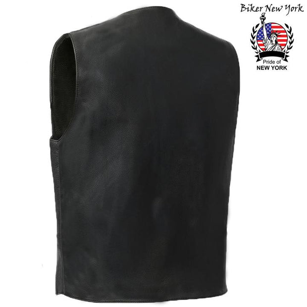 Fighter - Men's Motorcycle Leather Vest