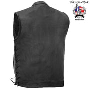 Fisher - Men's Motorcycle Leather Vest