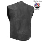 Swat - Perforated Motorcycle Leather Vest