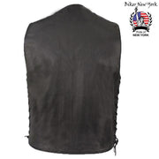 Spy - Men's Motorcycle Leather Vest