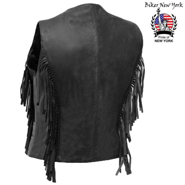 Mystic - Women's Motorcycle Leather Vest