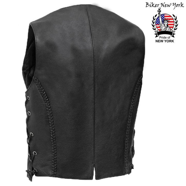 Grift - Women's Motorcycle Leather Vest