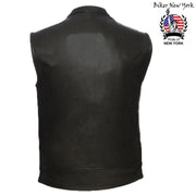 Hypo - Men's Motorcycle Leather Vest