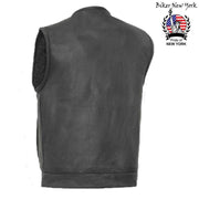 Elite - Men's Motorcycle Leather Vest