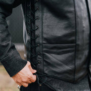 Paradise - Men's Motorcycle Leather Vest