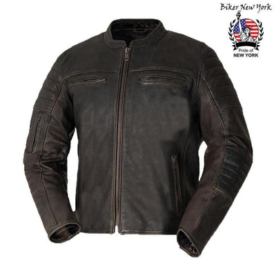 Arian - Men's Motorcycle Leather Jacket