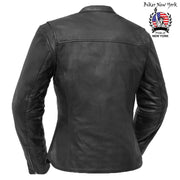 Boxer- Women's Motorcycle Leather Jacket
