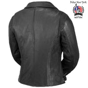 Biker Star - Women's Motorcycle Leather Jacket
