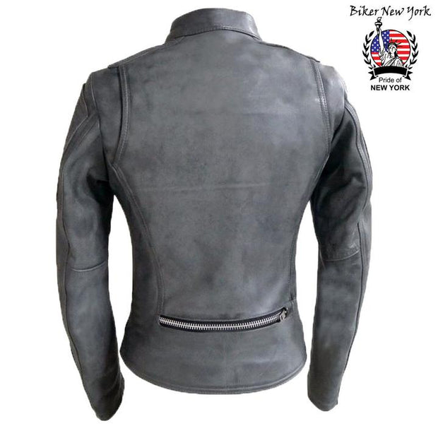 Victory - Women's Leather Motorcycle Jacket