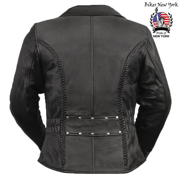 Club - Women's Motorcycle Leather Jacket