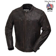 Cobra - Men's Motorcycle Leather Jacket