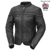 Dom - Women's Motorcycle Leather Jacket
