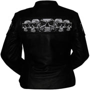 First Manufacturing Co: Jacket - Sacred Skulls