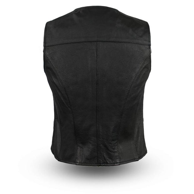 Sweet Sienna - Women's Leather Motorcycle Vest