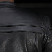 Galaxy - Men's Motorcycle Leather Jacket