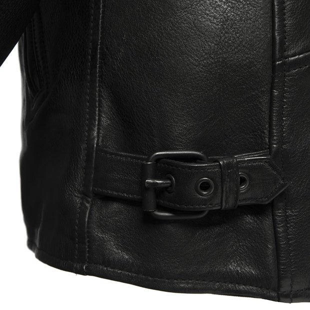 Atom- Men's Leather Motorcycle Jacket