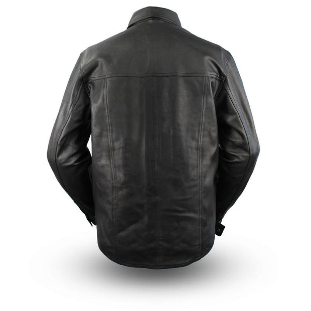 Milestone - Men's Motorcycle Leather Shirt