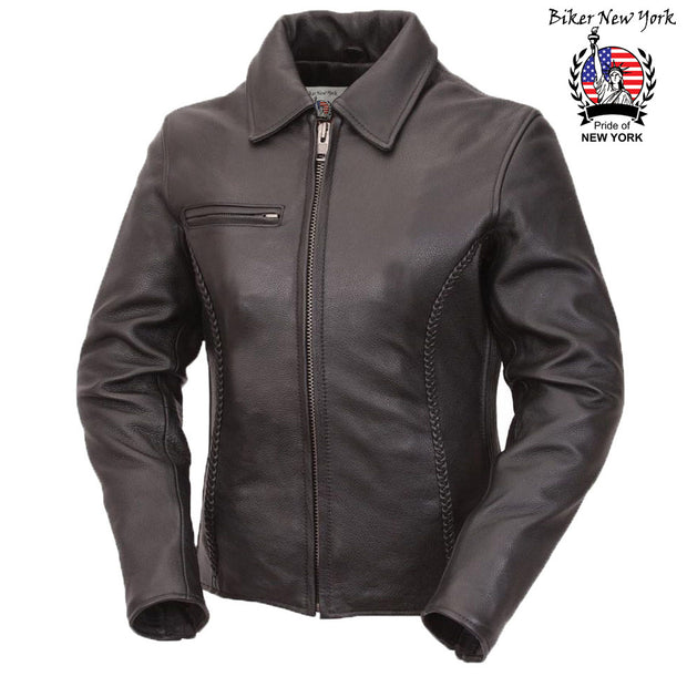 Fair - Women's Style Motorcycle Leather Jacket