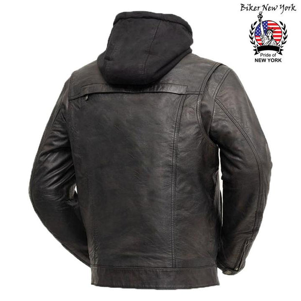 Hybrid - Men's Motorcycle Leather Jacket