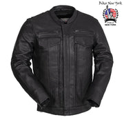 Monster - Men's Motorcycle Leather Jacket