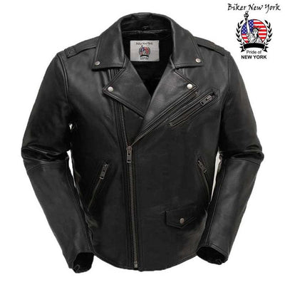 Motrox - Men's Motorcycle Leather Jacket