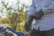 Pursuit - Men's Motorcycle Gloves With DuPont™ Kevlar™ lined palm.