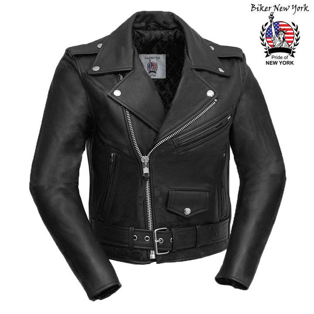 Robo - Women's Brando Motorcycle Leather Jacket