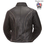 Shield - Women's Motorcycle Leather Jacket