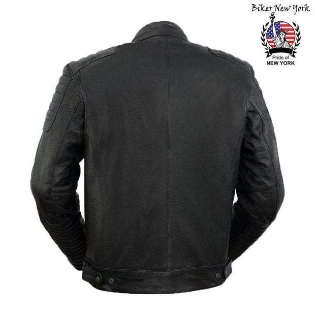 Terminator - Men's Motorcycle Leather Jacket