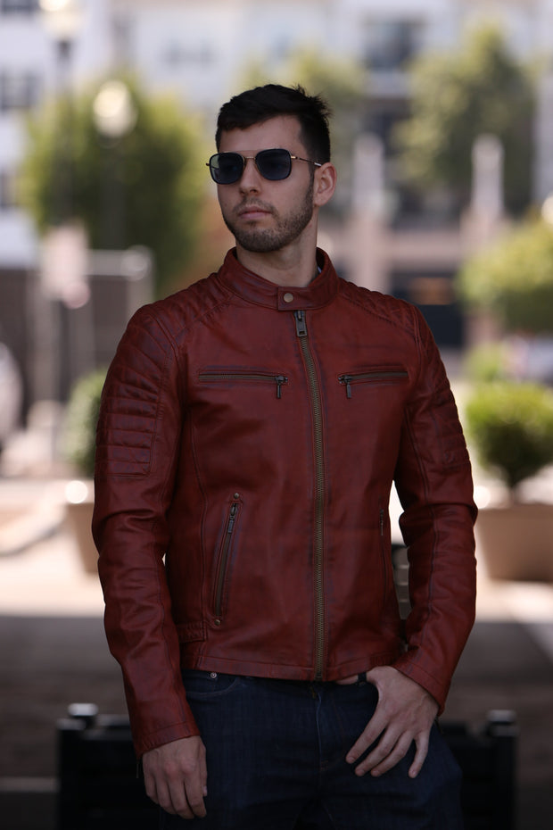 Zack - Men's Leather Jacket