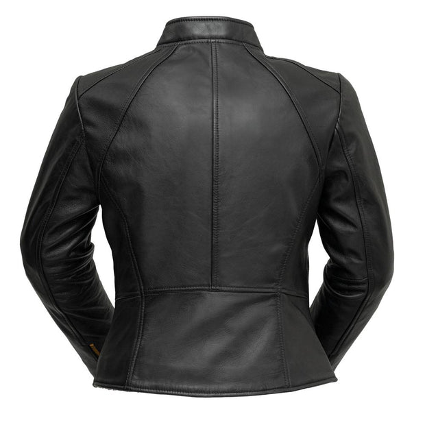 ZOEY - Ladies Leather Blazer