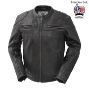 Wonder -  Men's Motorcycle Leather Jacket