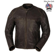 Zack - Men's Motorcycle Leather Jacket