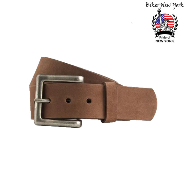 New York Leather Belt