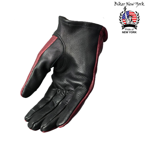 Trox - Perforated Leather Gloves