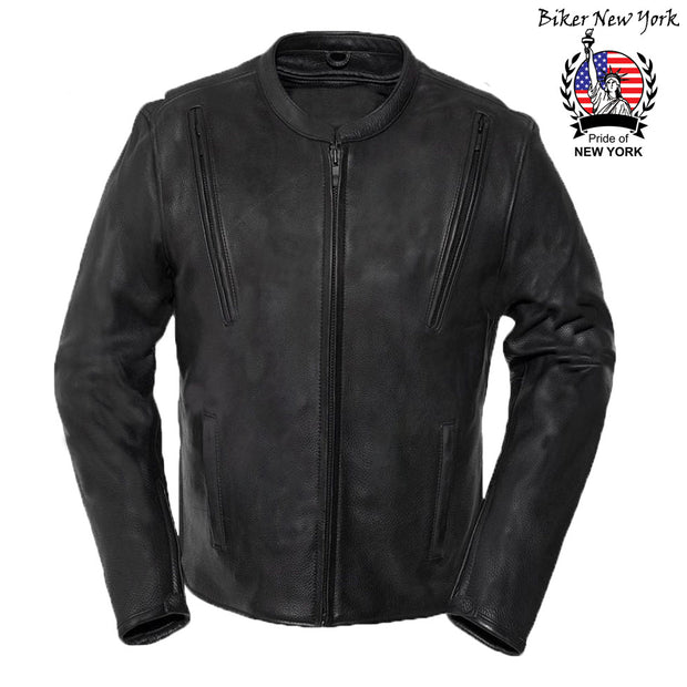 Bullet - Men's Motorcycle Leather Jacket