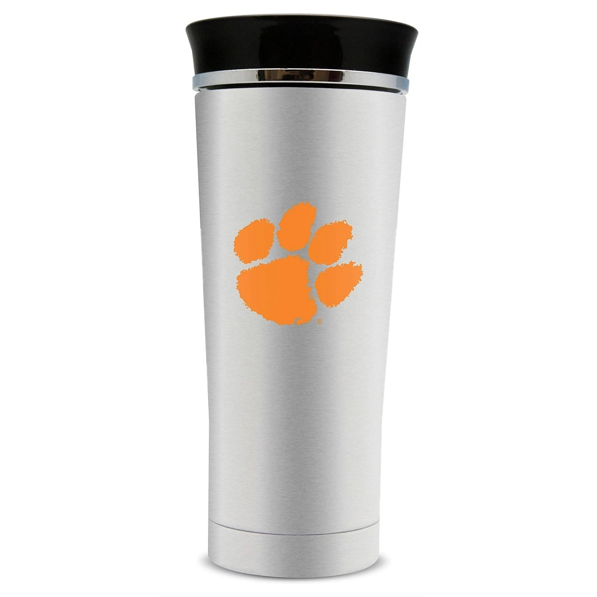 18 Oz. Stainless Steel Thermal Tumbler With Orange Paw - Mr. Knickerbocker