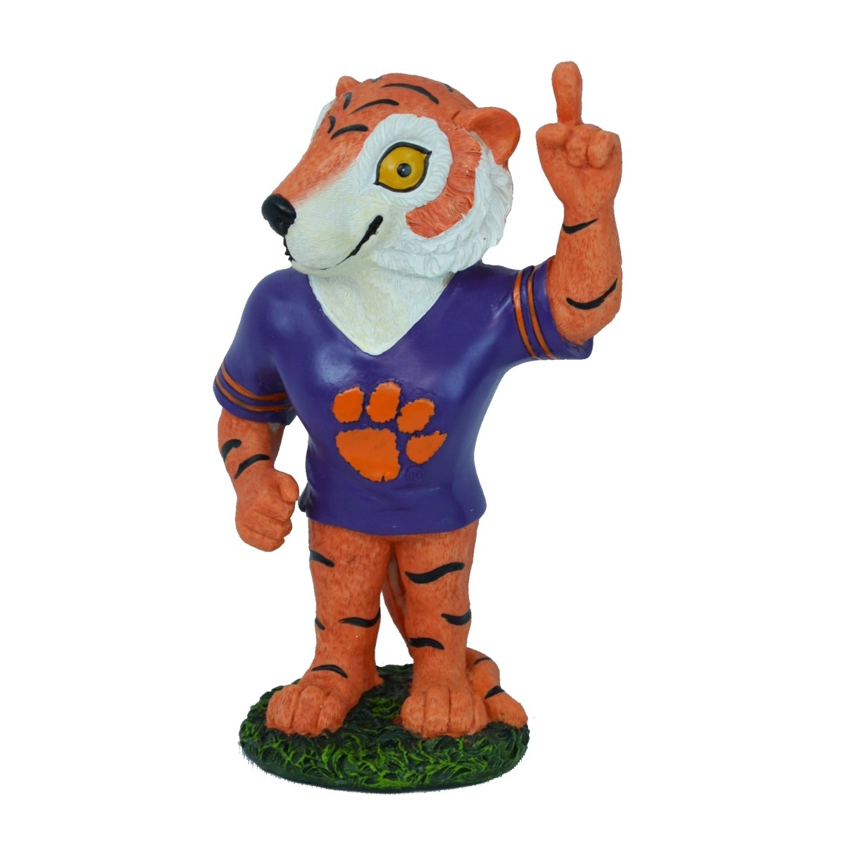 "18"" Resin Painted Tiger Figure - Mr. Knickerbocker"