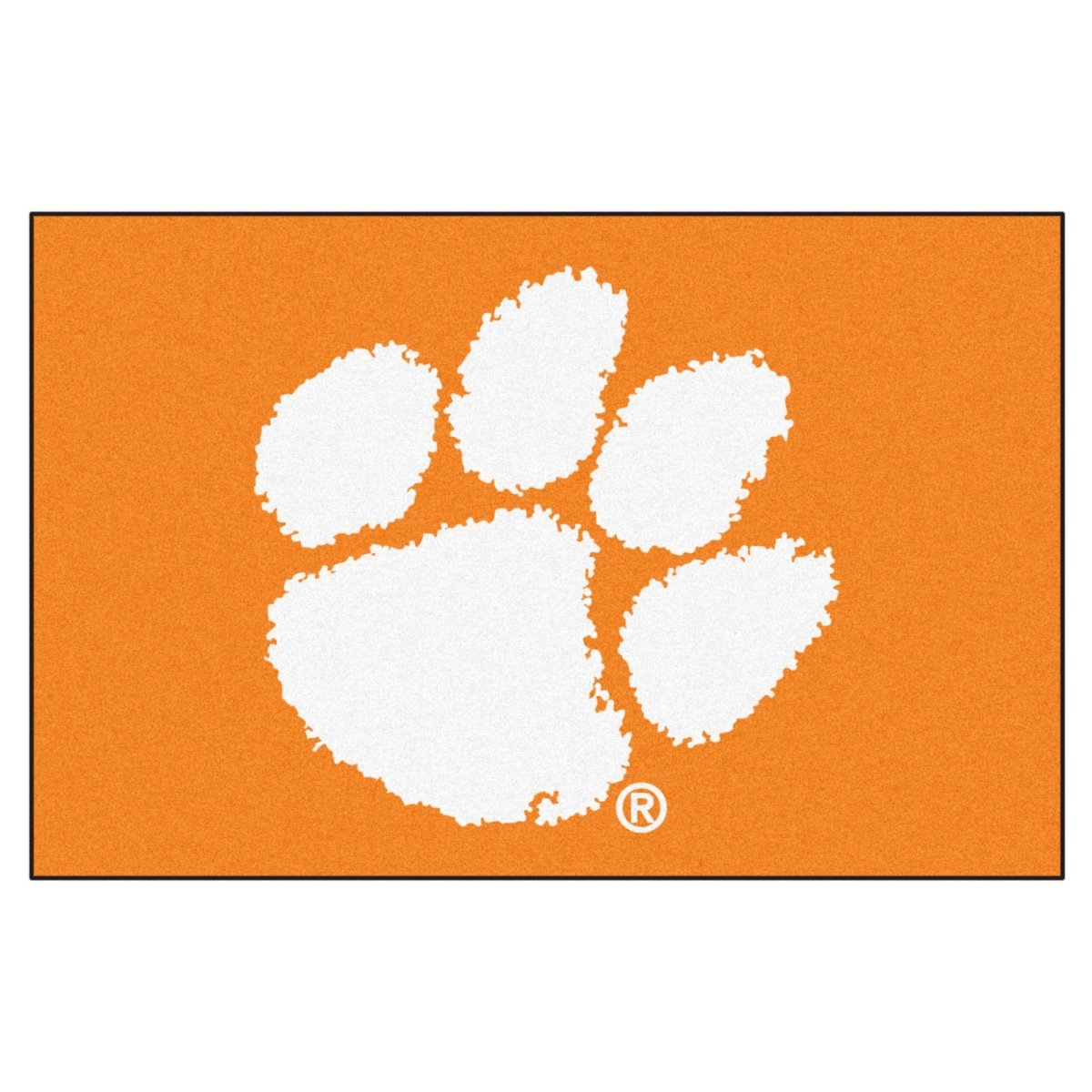 19'' X30'' Starter Mat-orange W/ White Paw Orange/white - Mr. Knickerbocker