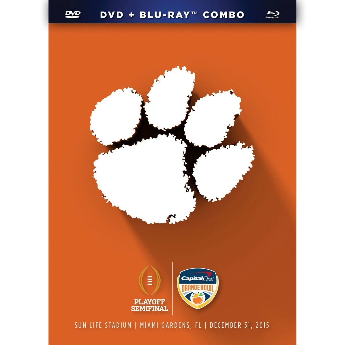 2015 College Football Playoffs Orange Bowl Dvd - Mr. Knickerbocker