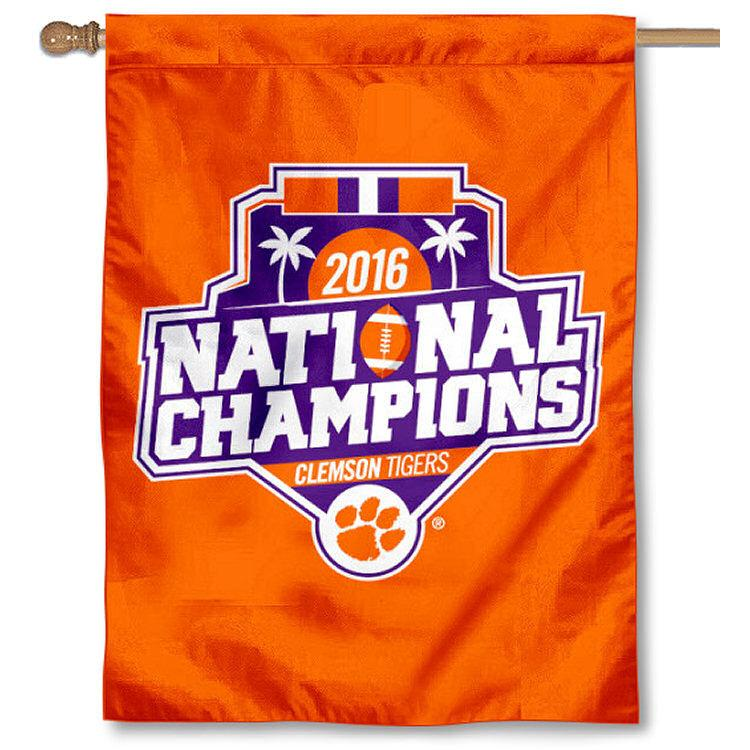 "2016 National Champions House Flag - 30"" x 48"" - Mr. Knickerbocker"