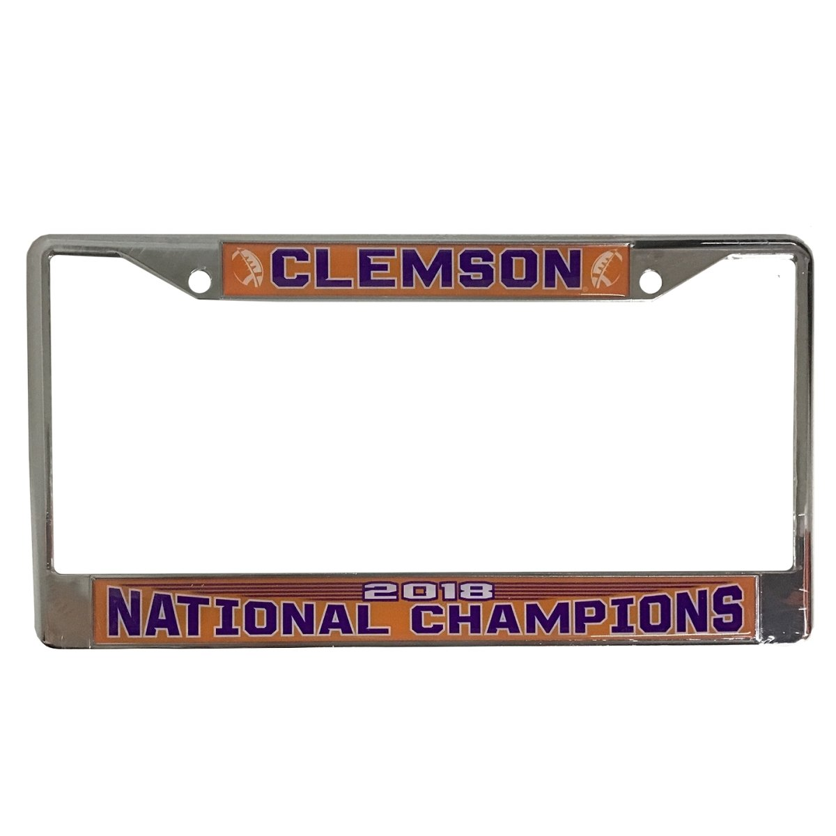2018 National Champions Chrome With Domed Clemson Over Nc - Mr. Knickerbocker