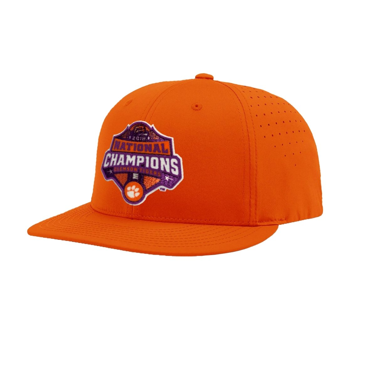 2018 National Champions Logo Dry-fit Hat - Mr. Knickerbocker