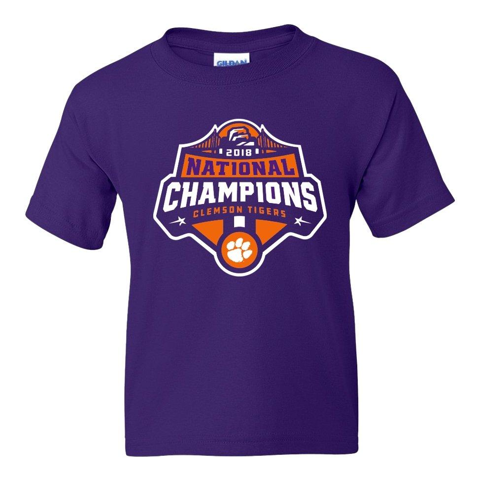 2018 National Champions Logo Youth Tri-Blend Tee - Mr. Knickerbocker