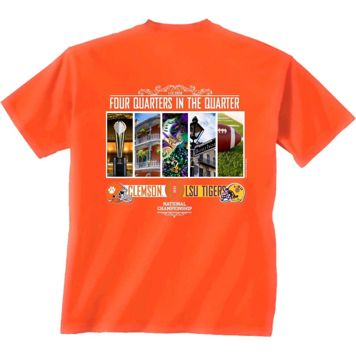 2019 National Championship Bound 4 Quarters in the Quarter Tee - Mr. Knickerbocker