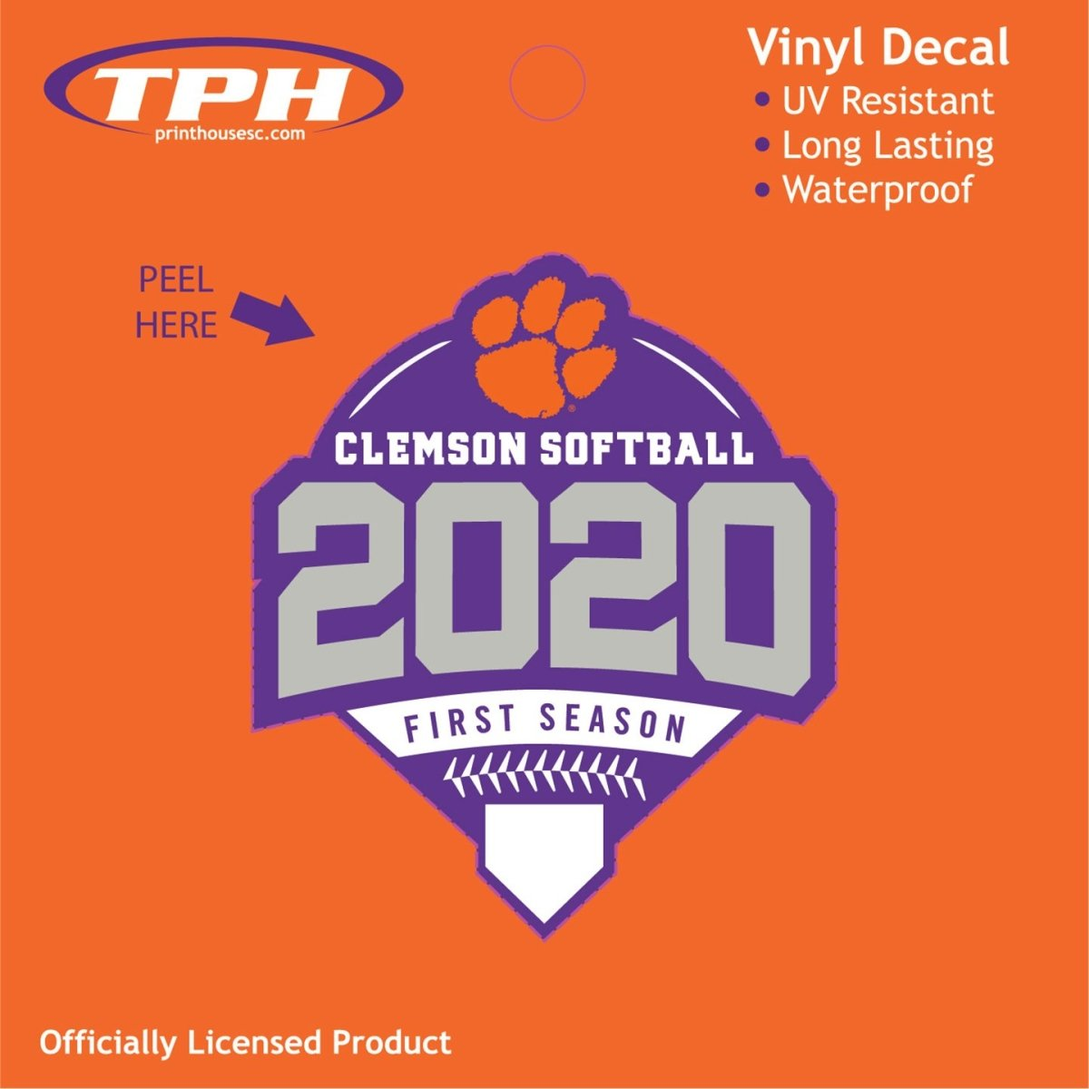 2020 Softball First Season Logo Decal - Mr. Knickerbocker