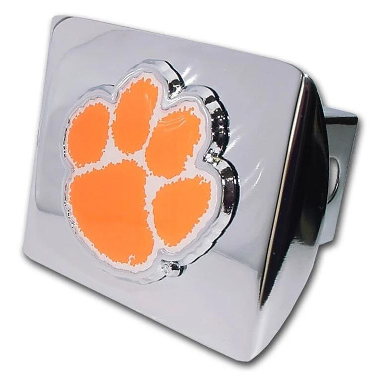 2'' Hitch Cover-chrome With Orange/white Paw - Mr. Knickerbocker